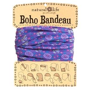 Purple- Boho Bandeau Buff