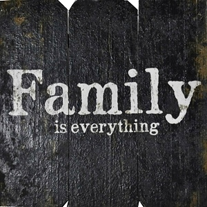 FAMILY is Everything | Handcrafted, Distressed Wood Sign