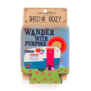 Camper, Wander With Purpose - Cozy
